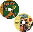 Adventures Into the Unknown  Forbidden Worlds comic books on 2 DVDs 263 issues