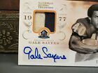 National Treasures Autograph Prime Jersey HOF Auto Bears Gale Sayers 18 25 2013