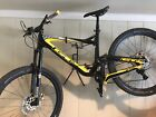 2016 Large GT Carbon Sensor Team MTB Carbon Haven wheels and handlebars 11 speed