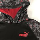 MINT Youth Boys Medium Puma Hoodie Black Basketball Winter
