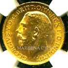 CANADA GV 1911 C GOLD COIN SOVEREIGN * NGC CERTIFIED GENUINE MS 63 * IMPERIAL