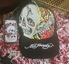 ED HARDY HEART COFFEE SKULLTIGER HAT CAP NWT LICENSED FREE SHIPPING