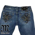 Womens Miss Me Jeans 28 Skinny JP6048S Color VTG 46 Actual 28 X 32