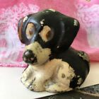 ANTIQUE ART DECO SPENCER CAST IRON DOG PAPERWEIGHT PENCIL PEN HOLDER STATUE TOY