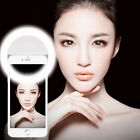 Pro Selfie Portable LED Ring Fill Light Camera Photography for iPhone Android