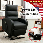Power Lift Recliner Chair RC Medical Assist Wall Hugger Lounge Seat For Elderly
