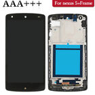 For LG Nexus 5 Replacement Touch Screen Digitizer LCD Assembly With Frame US