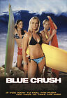 Blue Crush 2002 27x41 Orig Movie Poster FFF-09920 Rolled Very Fine Kate Bosworth