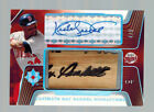 2004 04 KIRBY PUCKETT ULTIMATE GAME USED BAT BARREL SIGNATURE AUTO #ED 4 5 TWINS