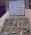 New Embroidex 32 PIece Multifunction Presser Foot Set janome- Kenmore- Singer