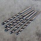 5 GERMAN MADE BULLET POINT TCT 10MM x 200MM CONCRETE & MASONRY DRILL BITS
