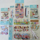 Jolees Boutique Scrapbooking Stickers Lot Vacation Trip Travel Airplane Cruise