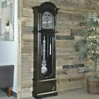 Westminster Chime 6 Tall Espresso Grandfather Clock Nickel Swinging Pendulum