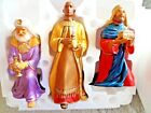 Hallmark Keepsake 3 Piece THREE WISE MEN Large Nativity Collection BNIB