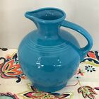 Fiestaware Peacock Carafe Fiesta Retired Blue 60 oz Water Jug Pitcher