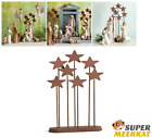 Star Backdrop Metal Decor For Christmas Willow Tree Nativity Figurines