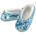 SNOOZIES Womens SLIPPERS BALLERINA BLING 6 ASST Colors