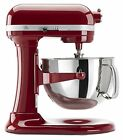 Kitchenaid Stand Mixer 6 Quart Bowl 10 Speeds Beater Dough Hook Whisk Red