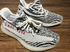 AUTHENTIC Adidas Yeezy Boost 350 V2 SPLY CP9654 White Zebra Womans Sneakers