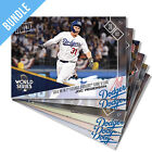 LA DODGERS HOUSTON ASTROS 2017 WORLD SERIES GAME 6 TOPPS NOW 6 CARD SET #852-857