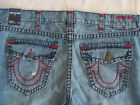 True Religion Rocco Skinny Jeans Super T Red Vintage Glory Size 44 NWT 369