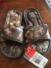 Under Armour Youth Girls Size 2 Ignite Camo Sandals Realtree
