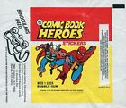 Vintage 1974 Topps COMIC BOOK HEROES Stickers wrapper Marvel THOR