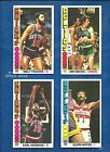 1976-77 Topps Basketball set lot of 64 diff cards Havlicek Frazier Cowens Hayes