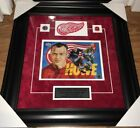 Gordie Howe Mr Hockey Signed And Framed 8x10 Detroit Red Wings Picture