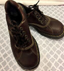 DR MARTEN AIR WAIR BROWN LEATHER BOOT OXFORD SHOE EURO 39 US 7 WOMENS 85 9