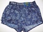 Polo Ralph Lauren Men Stretch Slim Fit Boxer Underwear NWT Size M MSRP $28 U491