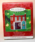 Hallmark: Fire Station No 1 - Town and Country - 2001 Keepsake Ornament