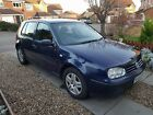LARGER PHOTOS: [NO MOT] FSH Volkswagen Golf 1.4L Good condition 110K Mileage