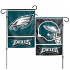 PHILADELPHIA EAGLES 2 SIDED 12x18 GARDEN FLAG NEW  OFFICIALLY LICENSED