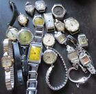 18  Vintage Women's Watch & Parts Lot Lady May, Royal, Accro & More