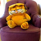 GARFIELD DAKIN Plush Extra Large Size Cat Stuffed Toy Vintage 1981 Big Kitty