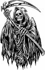 Grim Reaper Death Decal Sticker Car Truck Window Bumper Laptop Wall