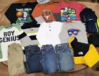 Boys Size 6 7 Winter Clothing Lot Jeans long sleeve shirts hoodie jacket