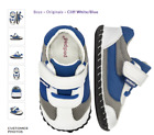 New Pediped Originals Cliff White Navy Leather Soft Sole Shoes 0 6 Month