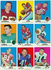 1969 Topps NFL Lot of 45 Different - EX Condition