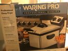 Waring Pro Professional Deep Fryer, large capacity never out of the box!