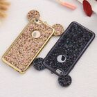 Lovely Bling Soft TPU Protective Cute Mickey Ear Case for iPhone Samsung Phones