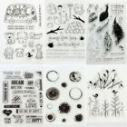 New Transparent Clear Silicone Stamp Seal for DIY Scrapbooking Photo Album Decor