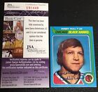 Bobby Hull Cards, Rookie Cards and Autographed Memorabilia Guide 45