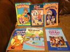 Abeka 1st Grade Set of 5 Readers + Primary Bible Reader 6 Book Lot Homeschool