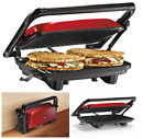 Panini Press Gourmet Sandwich Maker Toaster Grill Nonstick Kitchen Top Quality