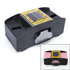 Automatic Poker Card Shuffler Battery Operated Game Playing Shuffling MachineW