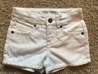 NWT Girls White Cherokee Shorts Adjustable Waist XL