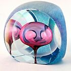 BEAUTIFUL Multifaceted TOM PHILABAUM Art Glass Paperweight SCULPTURE