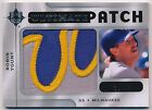 Robin Yount 2009 Ultimate Collection Jumbo Patch 31 35 Brewers Jersey LOGO